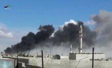 Krievijas uzlidojumi Sīrijā: Krievija necenšas iznīcināt IS, uzskata ASV