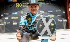 Rallijkross Zviedrijā: Artis Baumanis uzvar 'Euro RX' posmā, Jānis Baumanis iekļūst finālā 'Supercar' klasē