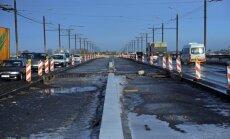 Salu tilta atjaunošanas otrās kārtas izmaksas pieaugušas par 13 miljoniem