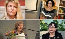 Autora balvu 2018 piešķir Auziņai, Heinrihsonei, Kļavai un Ulbergai