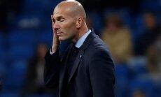 Zidāns pēc 'Real' izstāšanās no Spānijas kausa: šī bija sliktākā diena manā trenera karjerā