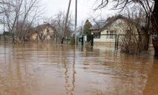 Šopavasar lieli plūdi Vidzemē nav gaidāmi, prognozē glābēji