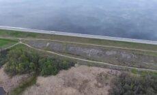 Video: Pie Ķekavas iemūžina 'pasaules malu'