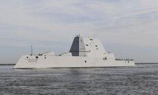 Panamas kanālā salūzis supermoderns ASV karakuģis