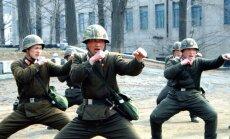 Ziemeļkoreja paziņo, ka tā atrodas karastāvoklī ar Dienvidkoreju