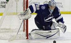 НХЛ: Колборн и Паник сделали по хет-трику, у Василевского — первая победа