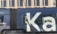 Atjaunota vadu lūzuma dēļ paralizētā tramvaju satiksme Rīgas centrā