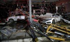 Foto: Virpuļviesuļos Teksasā bojā gājuši pieci cilvēki