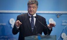 Порошенко: санкции против России — условие реформ на Украине