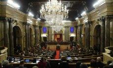 Katalonijas parlaments atliek balsojumu par jauno reģiona valdības vadītāju