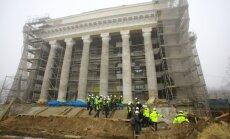 """ФОТО: во время реконструкции ДК ВЭФ обнаружились странные """"сюрпризы"""""""