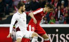 Латвия в Женеве держалась полтора тайма, у Андорры — первое очко за 12 лет в отборах
