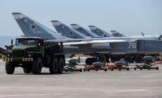 Krievijas uzlidojumos Sīrijas austrumos nogalināti 34 mierīgie iedzīvotāji