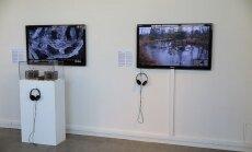 Stokholmas Tehniskajā muzejā skatāma instalācija 'Biotricity – baktēriju baterija'