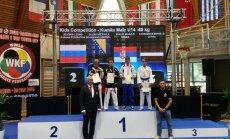 Latvijas jaunie sportisti no 'Karate1 World Cup 2016' atved četras medaļas