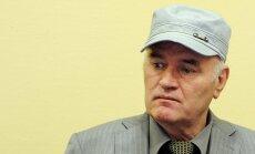 Serbija lūdz Hāgas tribunālu sniegt aprūpi sasirgušajam Ratko Mladičam