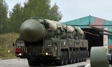 Krievija veikusi kārtējo raķešu izmēģinājumu
