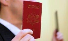 Pērn naturalizēto pilsoņu skaits audzis par 5%