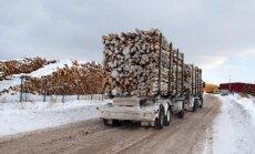 Latvijas meža produkcijas eksportam pērn kārtējais rekords - 2,102 miljardi eiro