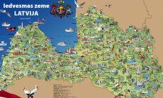 Piedalies Zinību dienas konkursā un laimē Latvijas bilžu karti!