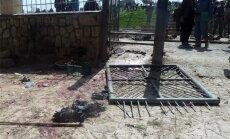 Spridzinātājs pašnāvnieks pie ASV armijas bāzes Afganistānā nogalina trīs afgāņus