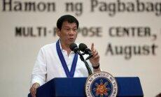Президент Филиппин послал к черту Евросоюз