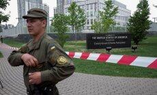 Kijevā ASV vēstniecības teritorijā nograndis sprādziens