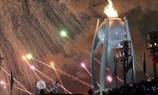 Foto: Phjončhanā atklātas līdz šim vērienīgākās Ziemas paralimpiskās spēles