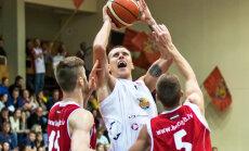 'Jēkabpils' basketbolisti ar pārliecinošu sniegumu tiek pie pirmās uzvaras LBL čempionātā