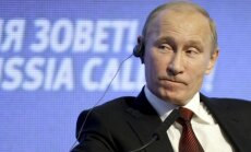 'Bloomberg': Putins gatavojas gaisa uzbrukumiem Sīrijā, ja netiks panākta vienošanās ar ASV