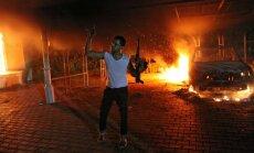 Uzbrukumā ASV konsulātam Lībijā nogalināts amerikānis