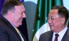 Pompeo nodevis Ziemeļkorejai Trampa vēstuli Kimam