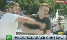 Krievijas TV sižetā desantnieku dienas žurnālista sitējs pārtop par 'ukraini'