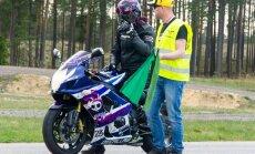 Svētdien trasē '333' notiks motociklistu sacensību otrais posms