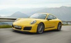 'Porsche 911' modeļu gammu papildina 'T' versija