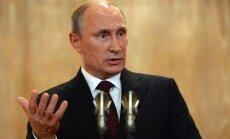 Putins: Krieviju neapmierina 'vienpolārā pasaule' ASV vadībā
