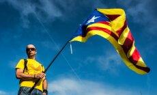 Spānijas Konstitucionālā tiesa aptur Katalonijas rezolūciju par neatkarības procesa sākšanu