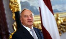 Krievija NATO valstīm pašlaik nerada militārus draudus, paziņo Latvijas prezidents