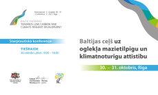 Starptautiskā konferencē spriež par klimata pārmaiņām Baltijā. Video tiešraide