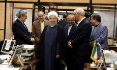 Mogerīni un Putins apsveic Ruhani ar pārvēlēšanu Irānas prezidenta amatā