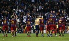 'Barcelona' futbolisti 'El Clasico' mačā sagrauj Madrides 'Real'