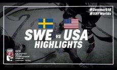 Video: Zviedrijas hokejisti otro gadu pēc kārtas iesoļo PČ finālā
