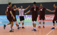 Latvijas volejbolisti svarīgā spēlē EČ kvalifikācijā revanšējas Slovākijai