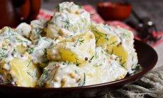 Sātīga maltīte bez gaļas: 16 kartupeļu salātu receptes izcilam garšu baudījumam