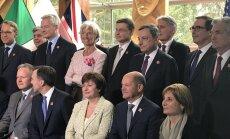G7 sanāksme Kanādā: ASV jaunie muitas tarifi neatbilst PTO normām, uzsver Dombrovskis