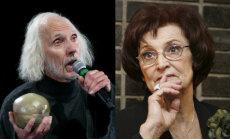 Juris Strenga un Olga Dreģe saņems balvu par mūža ieguldījumu teātra mākslā