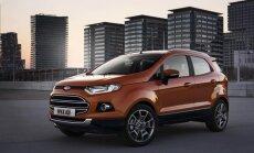 'Ford' sola 25 jaunus modeļus Eiropas tirgū piecu gadu laikā