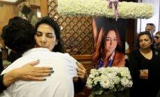 'EgyptAir' katastrofa: Kairā notiek pirmais piemiņas dievkalpojums