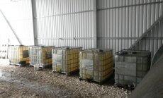 Divos uzņēmumos VID atklāj 17 300 litrus nelegāli izmantotas dīzeļdegvielas