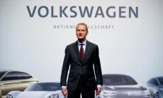 Dīzeļgeitas skandāla lietā VW vadītājs Dīss ticies ar FIB un ieguvis garantijas